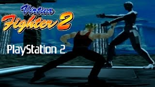Virtua Fighter 2 playthrough (PS2)