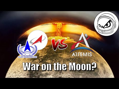War On The Moon - Why Would It Happen? Could A Military SpaceX Starship Make A Difference?