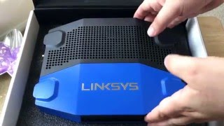 Linksys WRT1900ACS 802.11ac Dual-band WiFi Router Unboxing 5-11-16