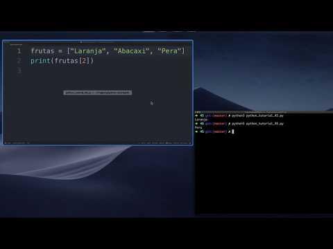 Como Acessar Itens de um Array / Listas (Python Tutorial #45) thumbnail