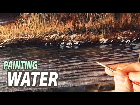 Painting Water Shouldn't be Hard, Try It This Way