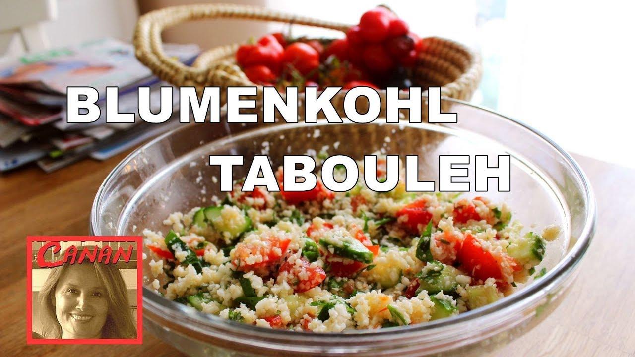 leckerer blumenkohl couscous salat gesund roh vegan low carb kisir tabouleh canans rezepte. Black Bedroom Furniture Sets. Home Design Ideas