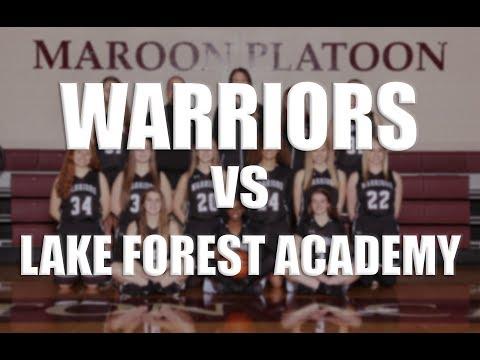 WA Girls Basketball vs Lake Forest Academy