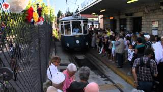 Inaugurazione TRAM di Opicina, Trieste 11 luglio 2014