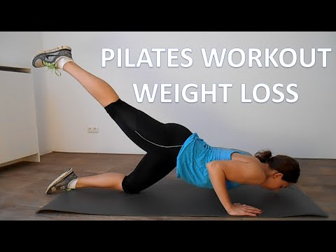 Pilates Workout For Weight Loss – 20 Minute Full Body Low Impact Pilates Workout