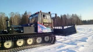 Первый ратрак сделанный в России.