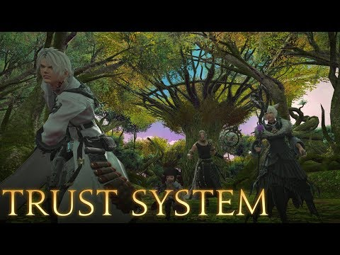 Shadowbringers Media Tour: The Trust System - Gameplay, Overview, And Thoughts.