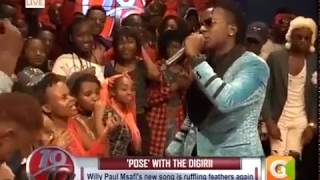 TASTE MY MONEY! Willy Paul splashes cash on #10Over10 revelers