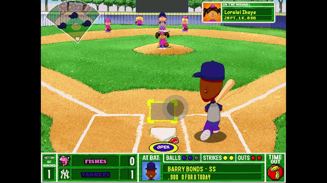 Merveilleux Backyard Baseball 2003 Gameplay