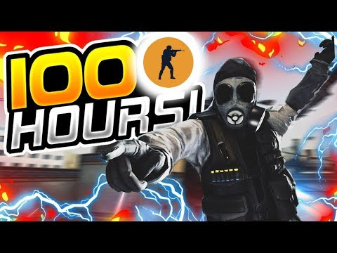 WHAT 100 HOURS OF CSGO LOOKS LIKE! - COUNTER STRIKE GLOBAL OFFENSIVE thumbnail