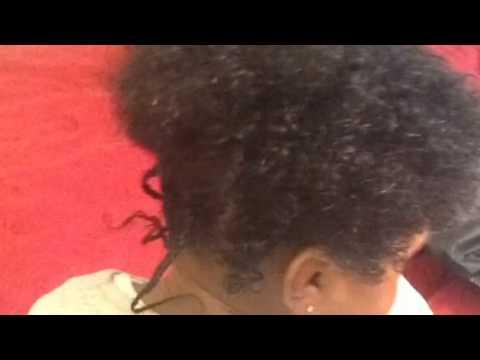 Beautiful Natural Black Baby Hair 2