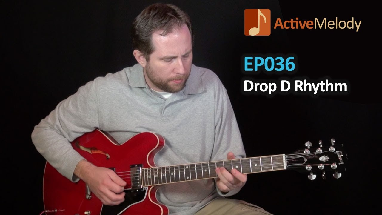 drop d tuning electric blues rhythm guitar lesson ep036 youtube. Black Bedroom Furniture Sets. Home Design Ideas