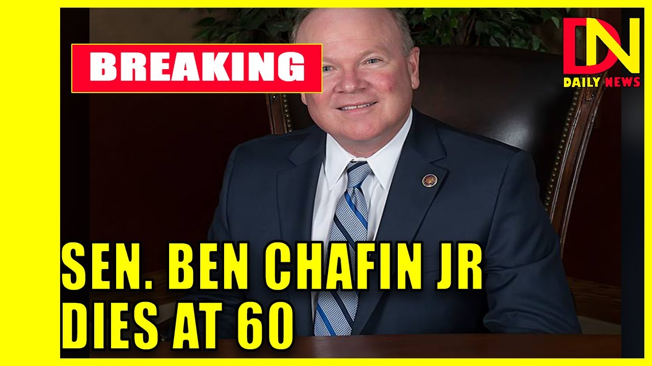 Virginia state Sen. Ben Chafin dies at age 60 after contracting ...