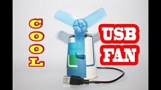 How to Make a USB Fan at home