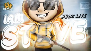 PUBG MOBILE LIVE IN TAMIL | IAMSTEVE YT  | 🛑 ROAD TO 3.7K SUBS [22/01/20]
