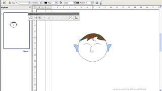 Formas - Curva con relleno - Draw/Formas - Curva con relleno/OpenOffice Draw/AulaFacil.com