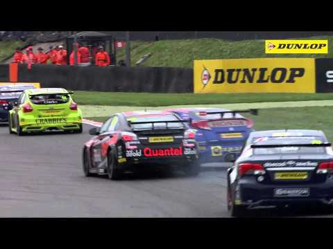 2014 Dunlop MSA British Touring Car Championship - highlights from Brands Hatch