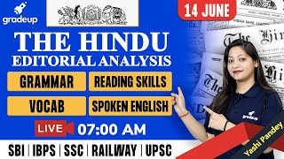 The Hindu Editorial Analysis | 14 June 2021 | The Hindu Analysis by Yashi Pandey | Gradeup