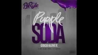"""DJ B*Ryte - """"Purple Soda"""" Ft  Z RO, Slim Thug, & GT Garza (COCO H-Town Remix)"""