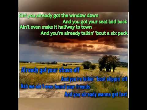 Just Getting Started Jason Aldean Lyrics