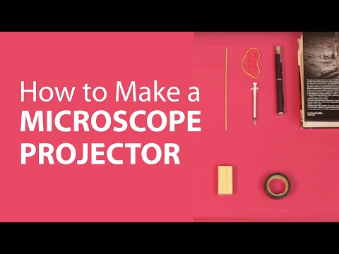 How to Make a Microscope Projector at Home | DIY Science Projects | dArtofScience