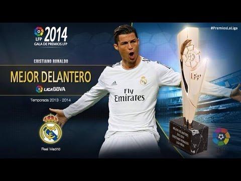 Cristiano Ronaldo Best Forward Award Winner | Liga BBVA 2013-2014