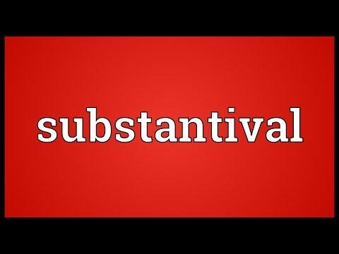 Header of substantival