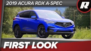 First Look: 2019 Acura RDX, third-gen's the charm