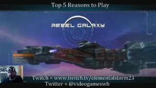 Rebel Galaxy - Top 5 Reasons to Play (PS4/Review/Gameplay)
