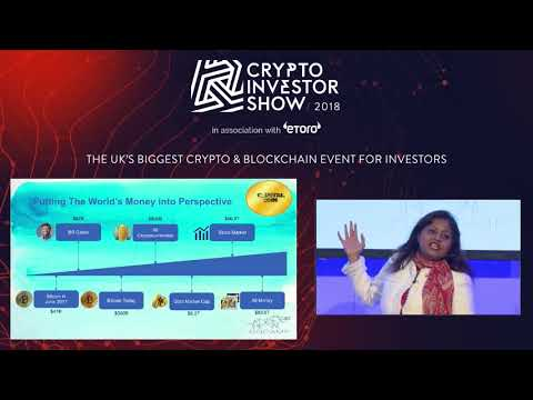 Disintermediating Capital Markets with Smart Contracts - Arifa Khan | Crypto Investor Show, London