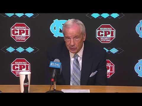 UNC Men's Basketball: Roy Williams Post Boston College Press Conference