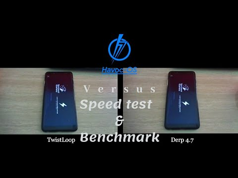 Speed test Custom Kernel TwistLoop Vs Derp 4 7 + Antutu benchmark Xiaomi  Redmi Note 5 (Whyred) Havoc