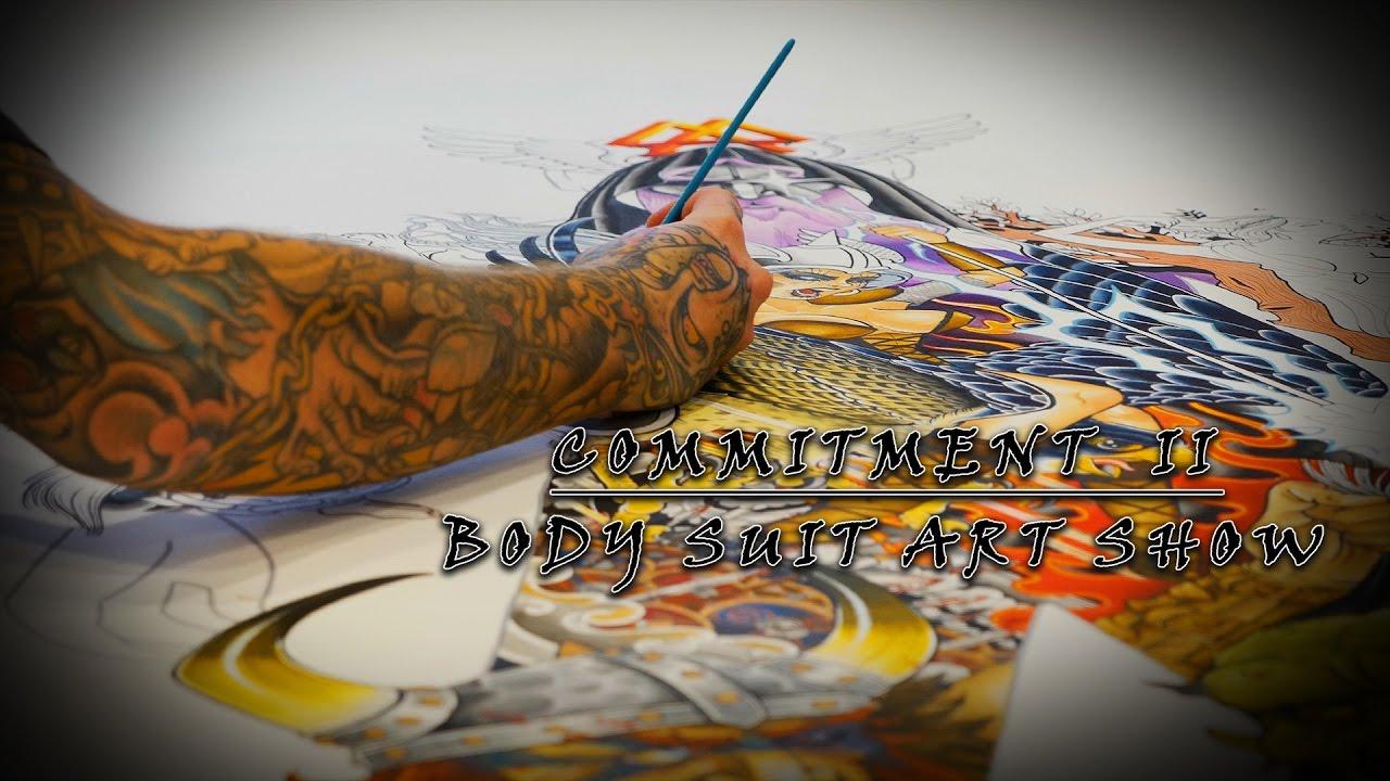 Guru Tattoo Body Suit Art Show | Commitment II - Part 3 - YouTube