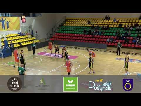 """Mezon NKL rungtynės: Palangos """"Palanga"""" - Tauragės """"Tauragė"""" [2017-10-28]"""
