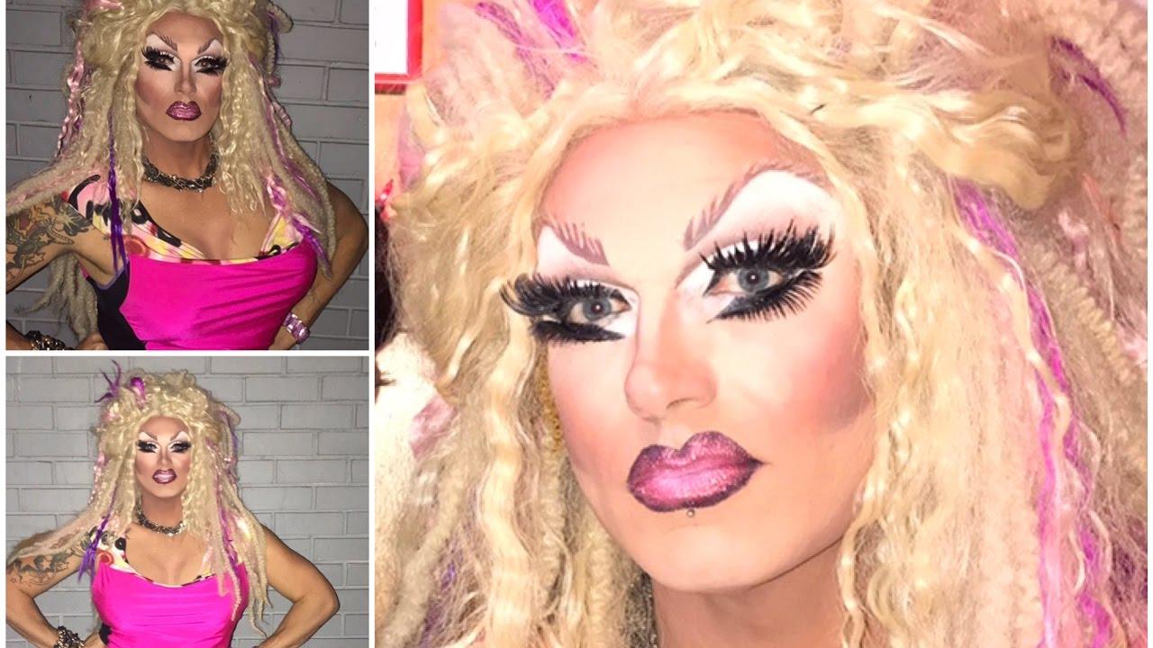 Nude eye cut crease makeup tutorial drag queen youtube nude eye cut crease makeup tutorial drag queen baditri Images
