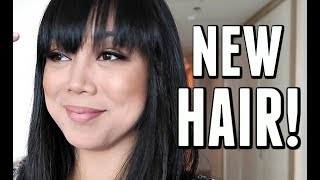 I FINALLY CUT MY HAIR! - September 28, 2017 -  ItsJudysLife Vlogs