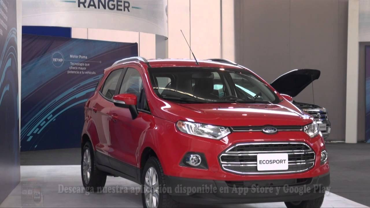 ford ecosport 2016 versi n autom tica youtube. Black Bedroom Furniture Sets. Home Design Ideas