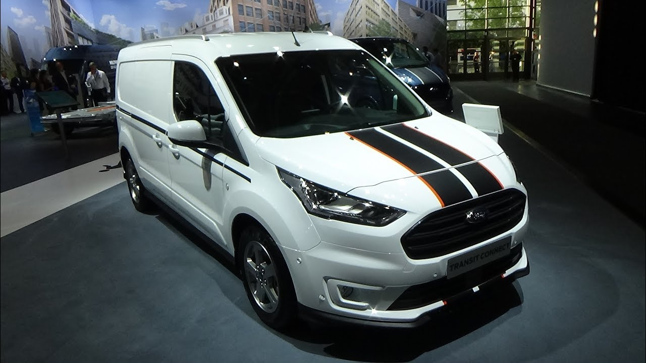 2019 Ford Transit Connect Cargo Van Sport - Exterior and ...