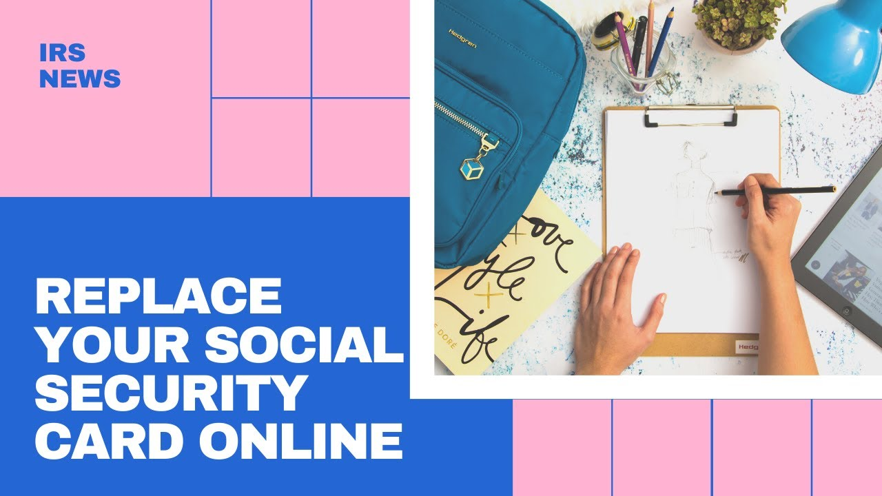 Replace Your Social Security Card Online In 43 States And The District Of Columbia Youtube