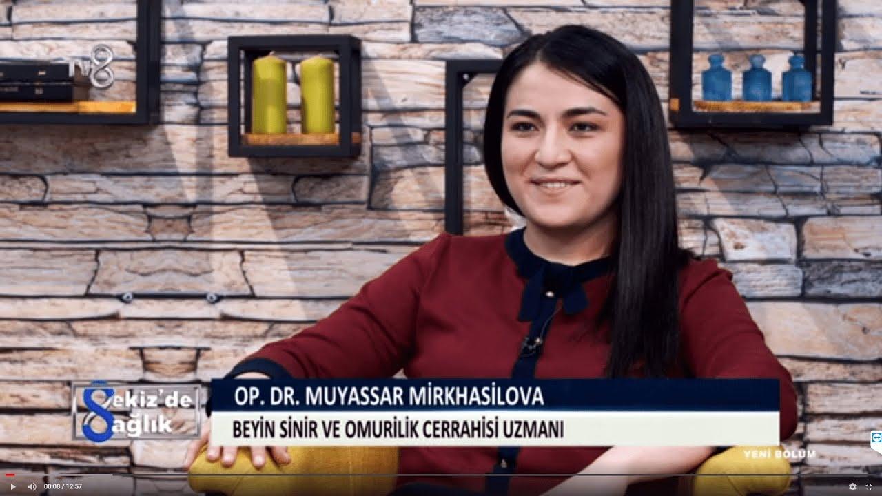 Bel Ağrısı Neden Olur ? | Özel Levent Hastanesi | Op. Dr. Muyassar  Mirkhasilova | 8'de Sağlık - YouTube