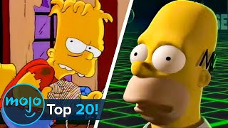 Top 20 Best Simpsons Treehouse of Horror Stories