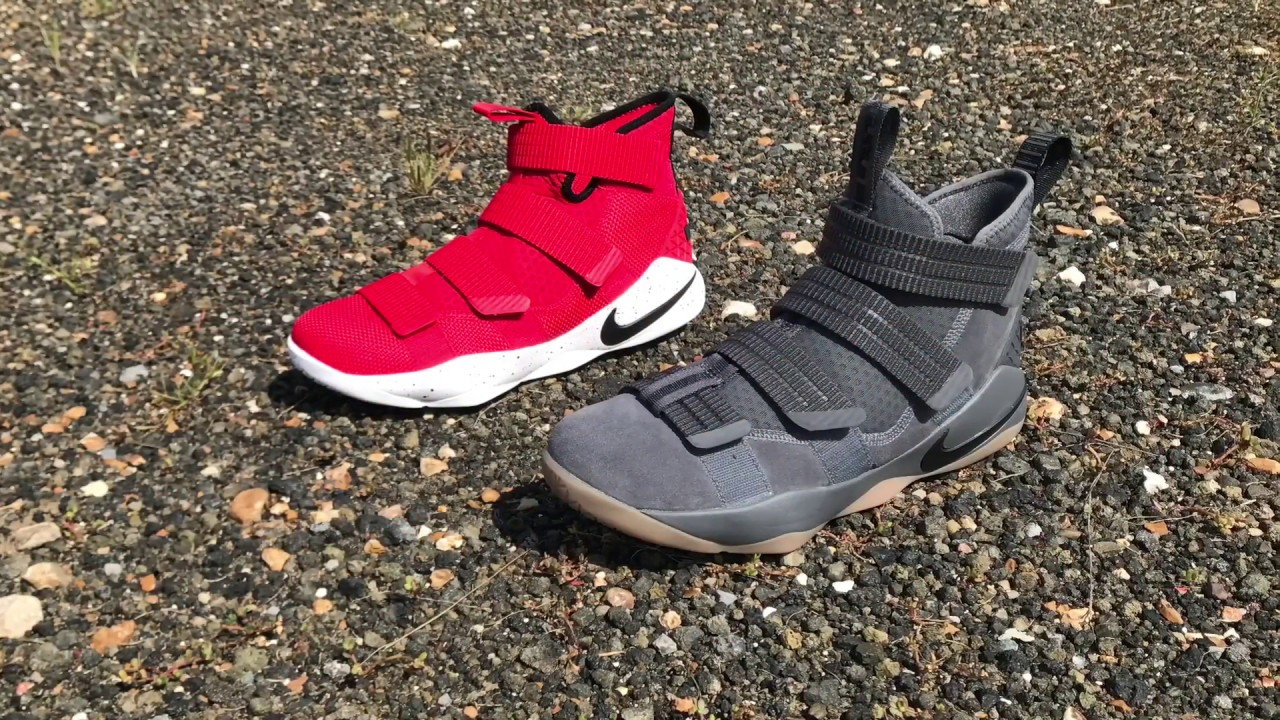 official photos 0e21a b2cf7 LEBRON SOLDIER 11 ALERT ON FOOT LEBRON SOLDIER 11 DOG DAYS ON FOOT AND  DETAILED LOOK