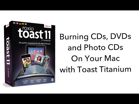 Burn CDs, DVDs, Photo CDs and More with Toast Titanium (for Mac)