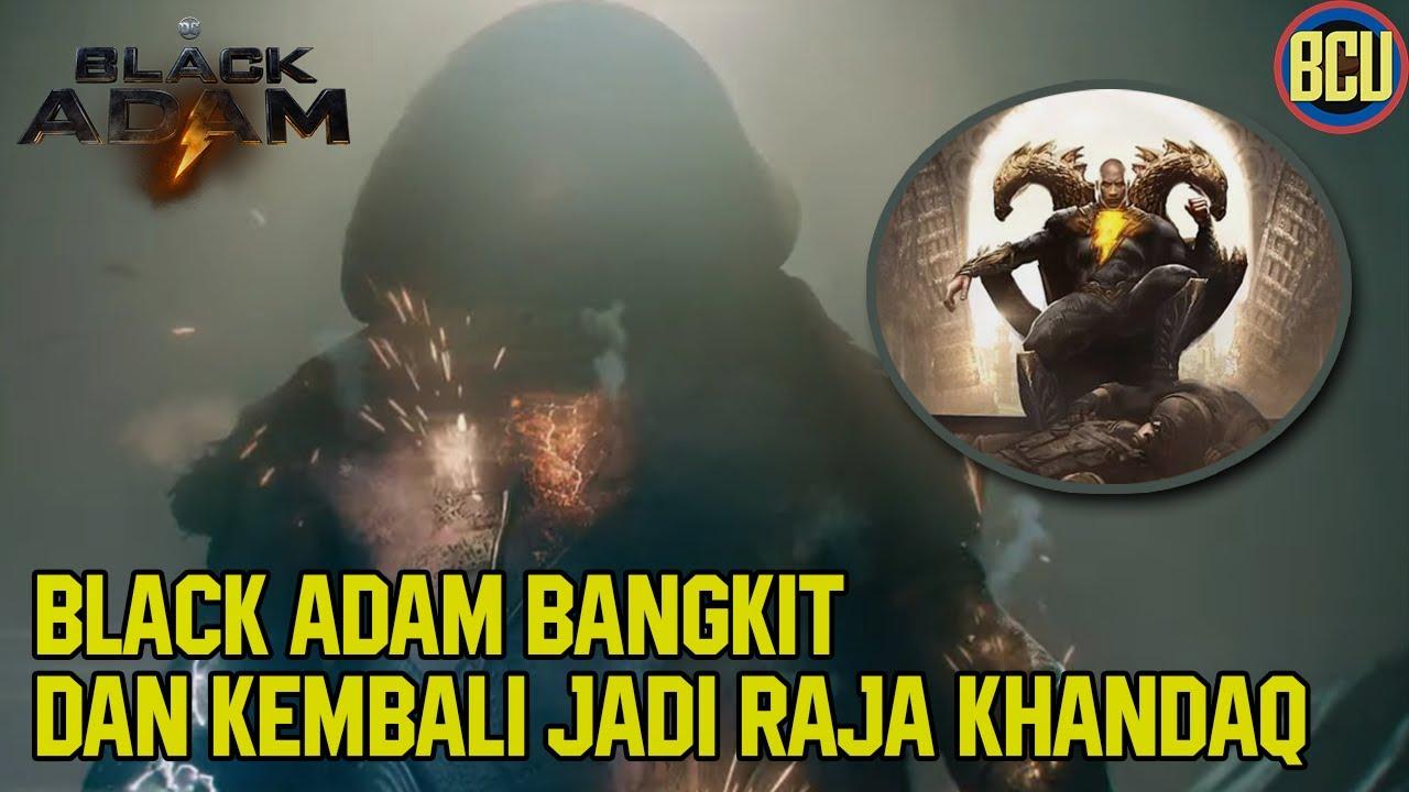 Download BLACK ADAM BANGKIT & SIAP MEREBUT KERAJAAN KAHNDAQ !!   BLACK ADAM FIRST LOOK TRAILER BREAKDOWN