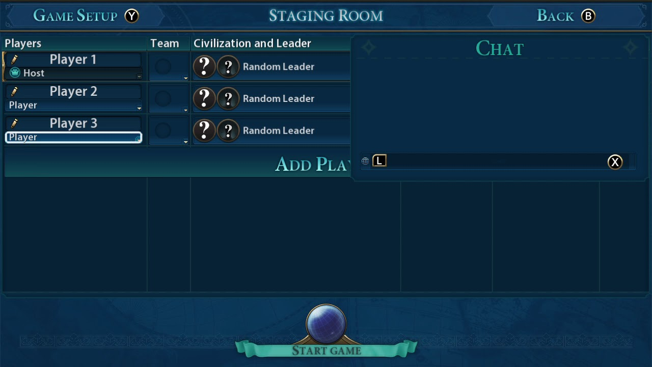 Hidden Hot-Seat in Civilization VI on Switch