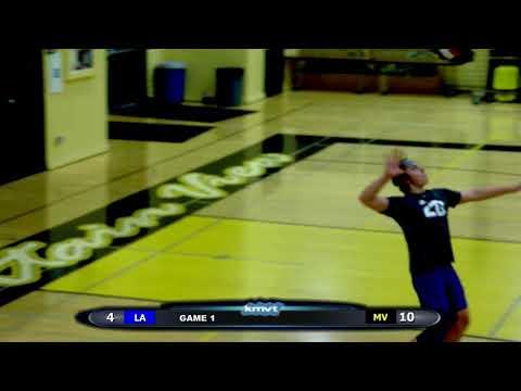 Los Altos Eagles vs Mountain View Spartans - Volleyball, March 7, 2018