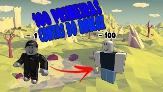 AS 100 FIRST ROBLOX ACCOUNTS