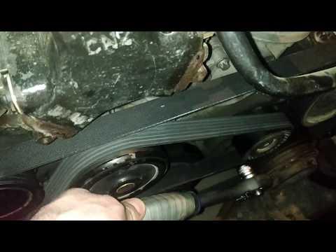 Замена ремня Мерседеса W210 E220 OM611