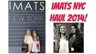 IMATS NYC Haul 2014! Thumbnail