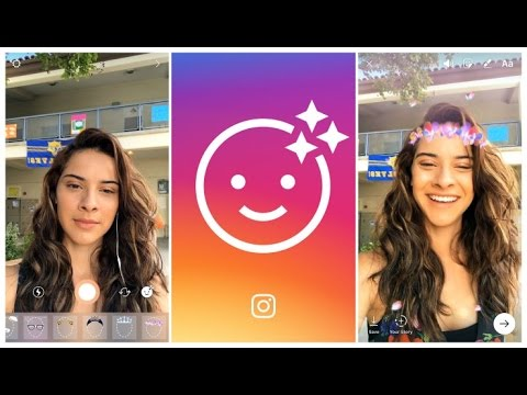 Instagram Finally Stoles Snapchat Style Face Filters | Instagram New Update 2017